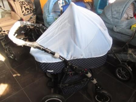 Как сшить москитную сетку на детскую коляску 39