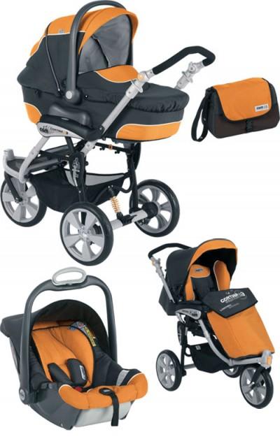 Продаю итальянскую коляску cam cortina evolution x3 tris 3 в 1