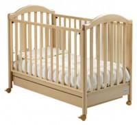 Детская кроватка Baby Italia Euro (naturale) так же в наличии цвета noce-орех, miele- мед, bianco - белый, ciliegio - вишня, avorio - слоновая кость