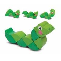 Развивающая игрушка Melissa&Doug Головоломка Змейка (MD3031)