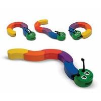 Развивающая игрушка Melissa&Doug Головоломка Гусеница (MD3032)