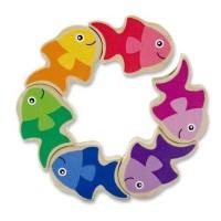Развивающая игрушка Melissa&Doug Головоломка Рыбки (MD3071)
