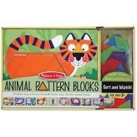 Развивающая игрушка Melissa&Doug Деревянная мозаика Животные (MD4382)