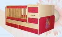Кроватка-трансформер BabyBed Furkan с пеленальным столиком