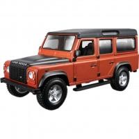 Конструктор Bburago Land Rover Defender 110 (коричневый металлик, 1:32) (18-45127)