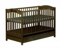 Детская кроватка KLUPS Radek V (c ящиком)