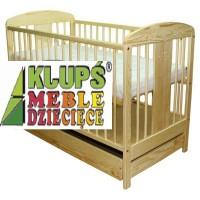 Детская кроватка KLUPS Radek VIII (c ящиком)