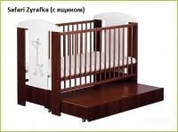 Детская кроватка KLUPS Safari с ящиком