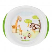 Набор детской посуды Chicco 2 тарелки 12 мес+ (06827.00)