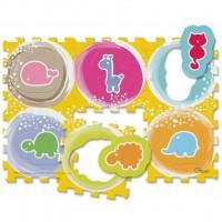 Детский коврик Chicco Животные 12 элементов (07162.00)