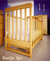 Кроватка Верес Соня ЛД12 без ящика, маятник