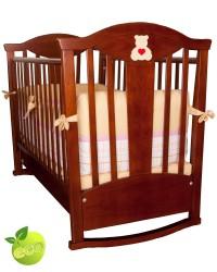 Детская кроватка-качалка MyBaby Funny Bears