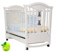Детская кроватка-качалка MyBaby Glamour Bunny