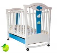 Детская кроватка-качалка MyBaby Journey