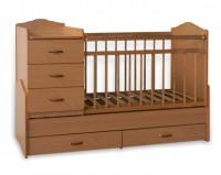 Детская кроватка-трансформер SKV СКВ-7