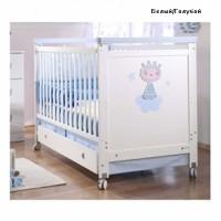 Детская кроватка Micuna Big Petit Prince 140х70см, MДФ, бук