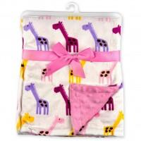 Одеяло Luvable Friends двухстороннее для девочек (50572 F)
