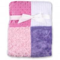 Одеяло Luvable Friends из различных видов тканей для девочек (50443.F)