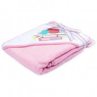 Полотенце для купания Luvable Friends с капюшоном для девочек (94911)