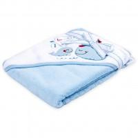 Полотенце для купания Luvable Friends с капюшоном для мальчиков (94912)