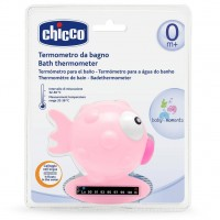Термометр для воды Chicco Рыбка розовый (06564.10)