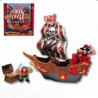 Игровой набор Keenway Приключения пиратов Битва за остров (10763)