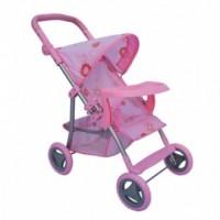 Коляска для кукл Melogo (Metr+) 9366 T Розовый