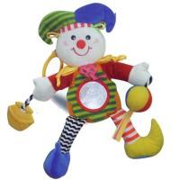 Игрушка-подвеска Biba Toys Счастливый клоун (032MC)