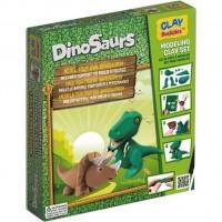 Набор для творчества CLAY Buddies Динозавры стартовый (308288)