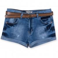 Шорты Breeze с ремнем (20063-140G-jeans)