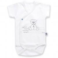 Боди Bibaby с медвежонком (56176-56B-blue)