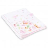 Одеяло Bibaby с нежными цветочками (64175-pink)