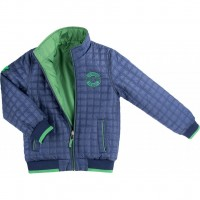 Куртка Verscon двухсторонняя синяя и зеленая (3278-122B-blue-green)