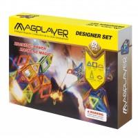 Конструктор Magplayer Набор 62 элемента (MPB-62)