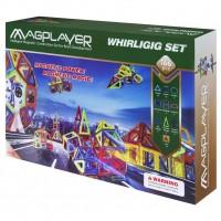 Конструктор Magplayer Набор 166 элементов (MPA-166)