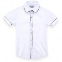 Блузка A-Yugi с коротким рукавом (1576-122G-white)
