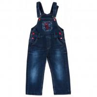 Комбинезон A-Yugi джинсовый утепленный (1074-104B-blue)