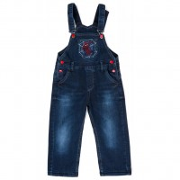 Комбинезон A-Yugi джинсовый утепленный (1074-122B-blue)