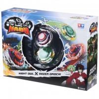 Волчок AULDEY Infinity Nado Сплит Night Owl и Razer Orochi с устр. запуска (YW624604)