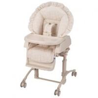 Колыбель-стульчик, для детей от рождения до 3х лет, цвет бежевый с рисунком