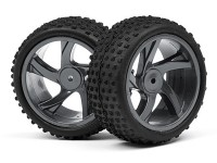 HPI Maverick Комплект колёс (шина+диск) 1:18, 40мм  для ION XB/XS (2шт)