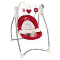 Кресло-качалка LOVIN'HUG (с подключением к электросети), Garden Friends, цвет белый с красным