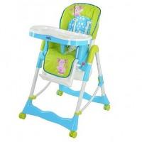 Стульчик для кормления Bambi LT 0007 U/R Зелено-голубой