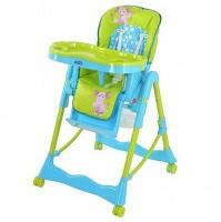 Стульчик для кормления Bambi LT 0008 U/R Голубо-зеленый