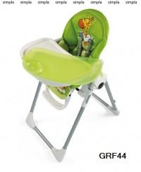 Стілець Prima Pappa Zero3 GRF44 (зелений з малюнком)