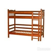 Кроватка двухъярусная Веста (нат. ольха)