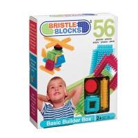 Конструктор-бристл Bristle Blocks СТРОИТЕЛЬ (56 деталей, в коробке)