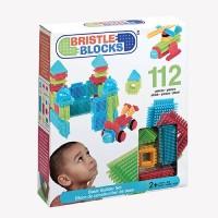Конструктор-бристл Bristle Blocks СТРОИТЕЛЬ (112 деталей, в коробке)