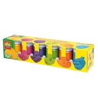 Гуашь Ses РАДУГА (6цветов),в пластиковых баночках