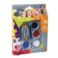 Набор д/грима Ses МАСКАРАД (краски, карандаши, кисточка)